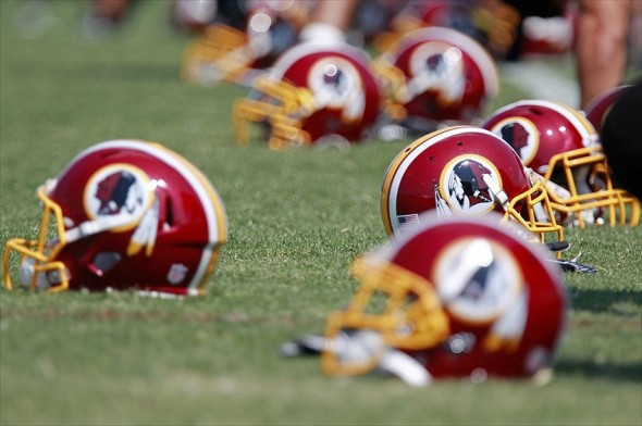 July 26, 2012; Ashburn, VA, USA; Washington Redskins players