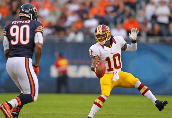 Redskins vs. Bears