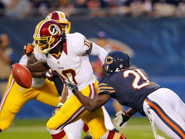 Bears vs. Redskins
