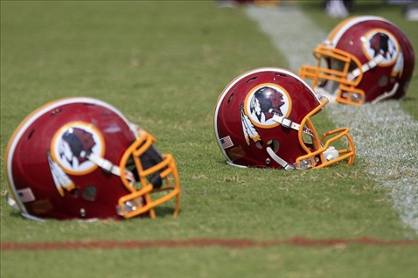 Jul 27, 2013; Richmond, VA, USA; Washington Redskins players