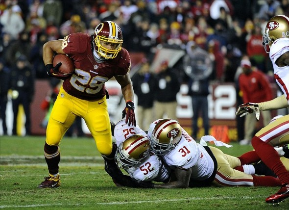 49ers vs. Redskins