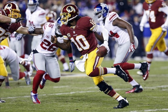 Giants vs. Redskins