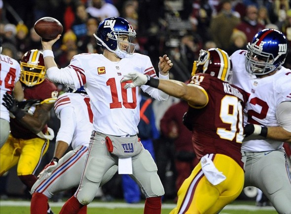 Redskins vs. Giants