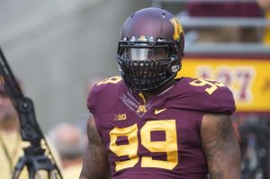 Minnesota Golden Gophers defensive tackle Ra'Shede Hageman (99). ©USA TODAY Sports