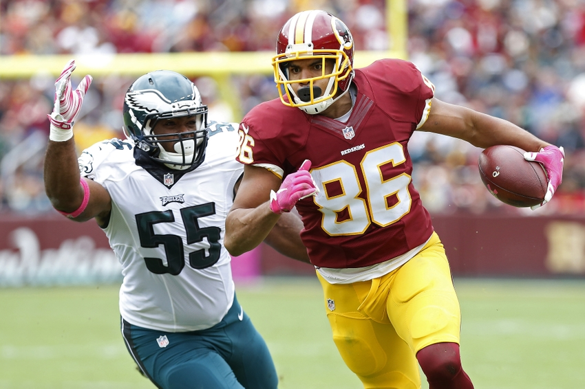 Redskins-Panthers: Jordan Reed, Greg Olsen Could Be Decisive Factors