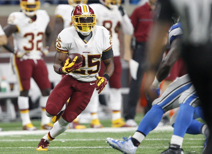 Redskins RB Matt Jones misses practice with knee injury