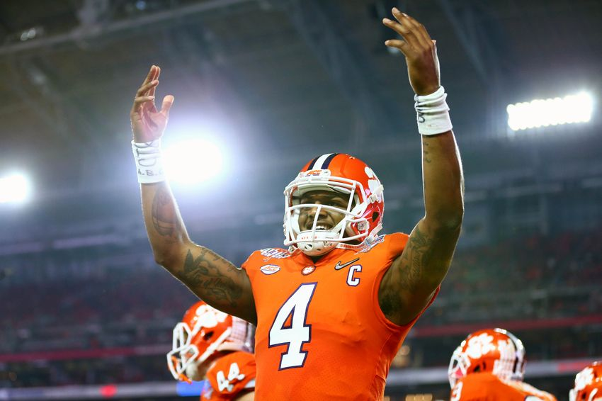 Clemson vs. Alabama College Football Playoff Championship Game