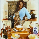 Katy does it while baking a cake - Oil on Canvass - Morgan Penn