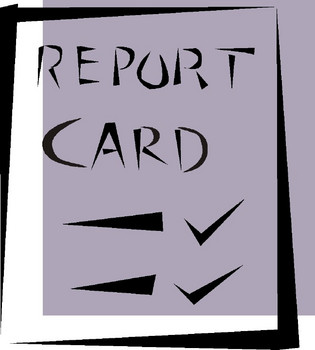 Report Card - Clipart