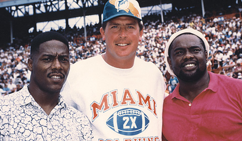 Marino and The Marks Brothers - MiamiDolphins.com