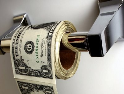 Money-toilet-paper