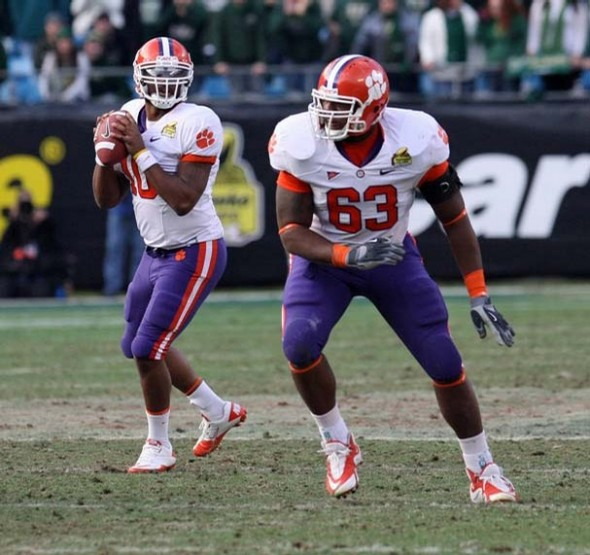 Clemson LT Brandon Thomas