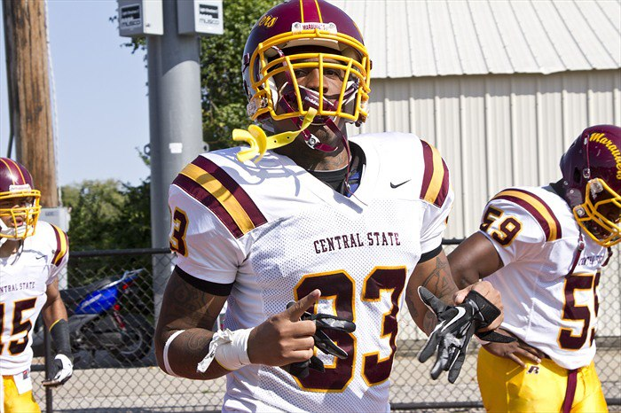 Central State WR #83 Dayvon Ross could make an impact on Sunday's next season.