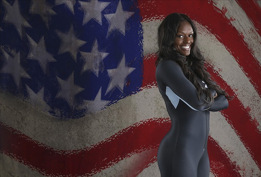 Olympic bobsledder aja evans is fred evans sister the viking age