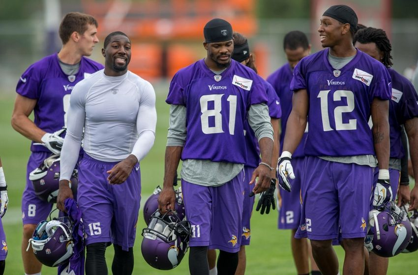 Vikings Corner An Early Vikings 53 Man Roster And Practice