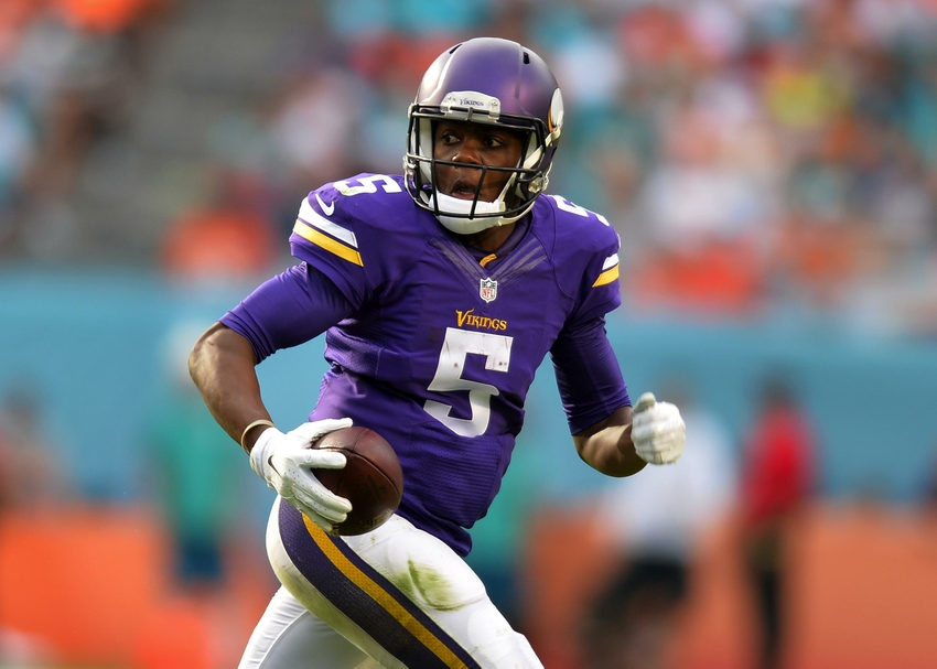 Teddy Bridgewater Is The Minnesota Vikings' Quarterback