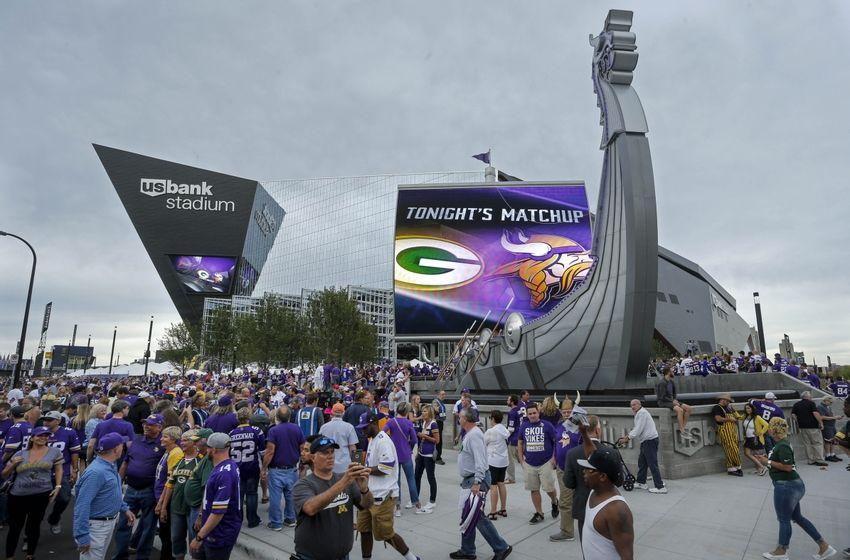 Positives And Negatives From Minnesota Vikings Games At US Bank - Us bank stadium legacy bricks map
