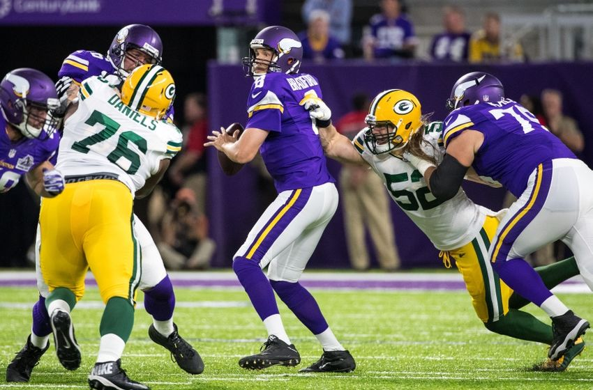 e87a81d8 Minnesota Vikings vs Green Bay Packers: Week 2 review and grades ...