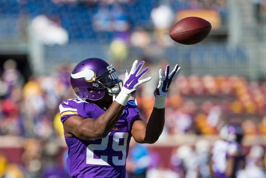 Minnesota Vikings Vs Giants Cb Xavier Rhodes Intercepts