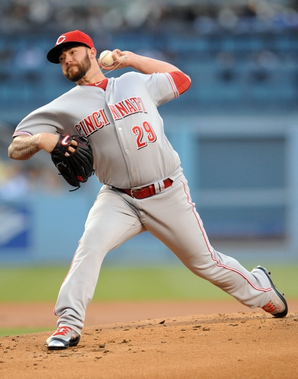 Brandon-finnegan-mlb-cincinnati-reds-los-angeles-dodgers