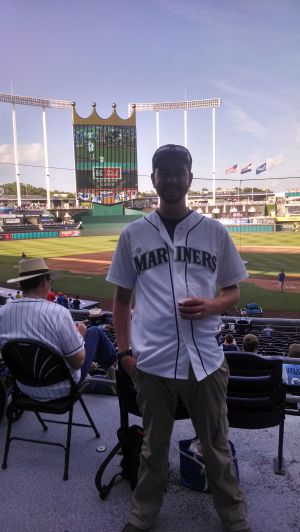 My trip to Kauffman Stadium