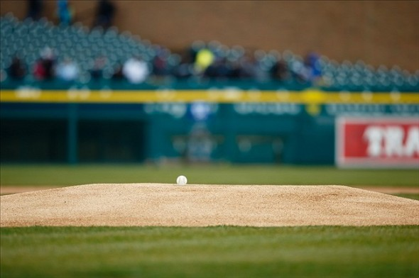 Comerica Park was a lonely, hostile place for the Tigers in 2003. Mandatory Credit: Rick Osentoski-USA TODAY Sports