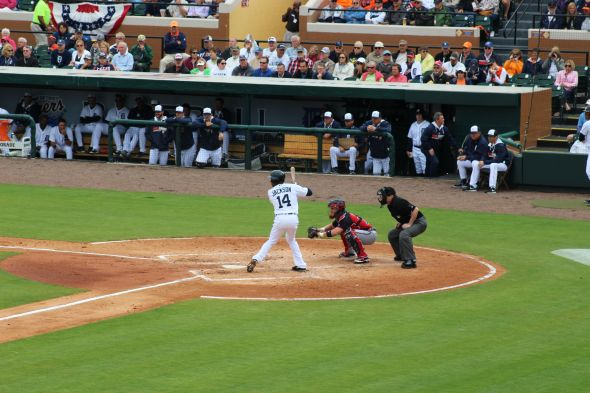 Austin Jackson. Credit: Courtney Jekot.