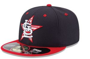 The cap the St. Louis Cardinals will wear on the 4th of July.