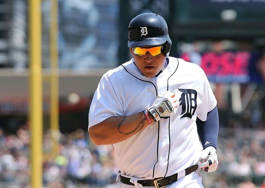 May 22, 2016; Detroit, MI, USA; Detroit Tigers first baseman <a rel=