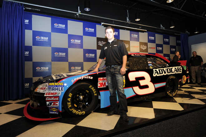 Austin Dillon To Drive No 3 In Nationwide Series In 2012