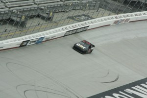 Tire tests at Bristol Motor Speedway