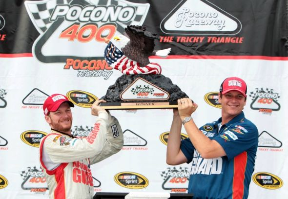 Dale Earnhardt, Jr. has won multiple races in a season for the first time in a decade.