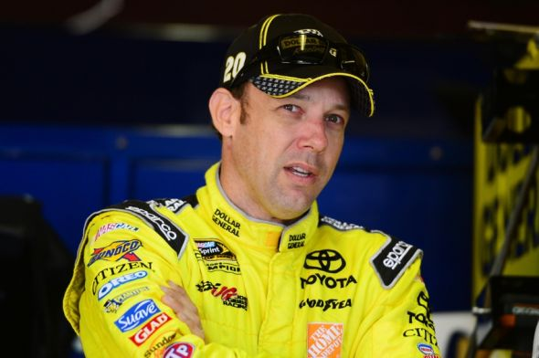 Jun 13, 2014; Brooklyn, MI, USA; NASCAR Sprint Cup Series driver Matt Kenseth driver during practice for the Quicken Loans 400 at Michigan International Speedway. Mandatory Credit: Andrew Weber-USA TODAY Sports