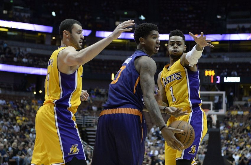 Phoenix Suns Finish Preseason with Victory Over Los Angeles Lak…