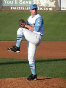 Blue Rocks starter Andy Ferguson back in 2012 (Jen Nevius).