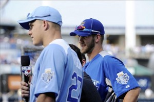Trout and Harper: Rookie All Stars