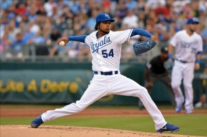 Ervin Santana gets the start tonight at Kauffman Stadium against Texas. Mandatory Credit: Denny Medley-USA TODAY Sports