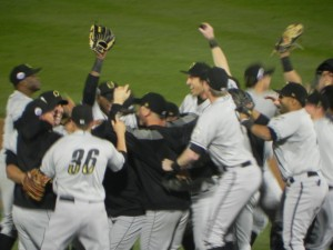 The Storm Chasers celebrating (Jen Nevius)