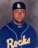 Jay Gehrke's head shot from 2001 with Wilmington.