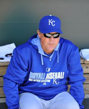 Ned Yost is searching for answers as to why he can't win in the merry month of May. Photo by Joy R. Absalon-USA TODAY Sports