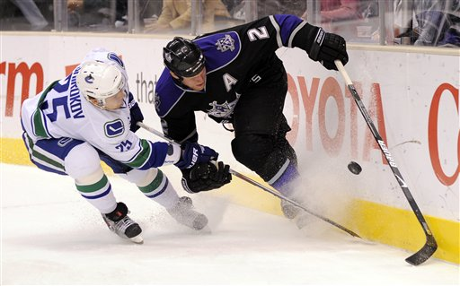 Canucks Kings Hockey
