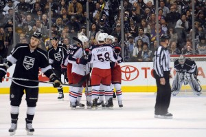 PHOTO 24 OF 36 - COLUMBUS BLUE JACKETS VS. LOS ANGELES KINGS