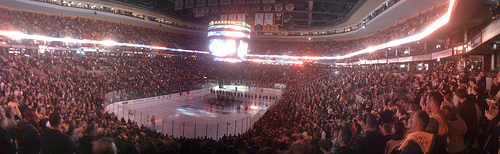 Boston Bruins Opening Night photo by Jason Meserve
