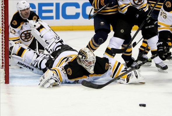 Bruins had issues vs. Buffalo