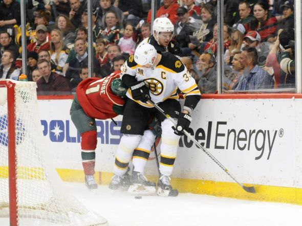 Bruins take on Wild
