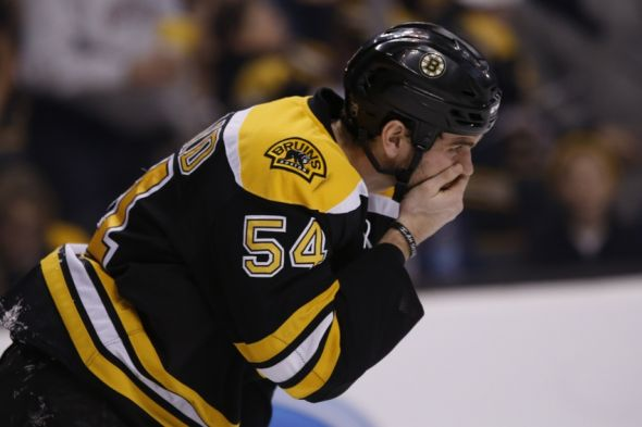 Boston Bruins Adam Mcquaid Injured Leaves Game