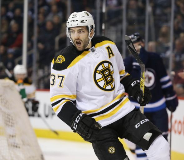 Boston Bruins: Missing Patrice Bergeron