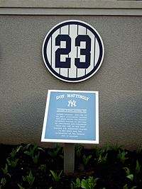 Mattingly Plaque