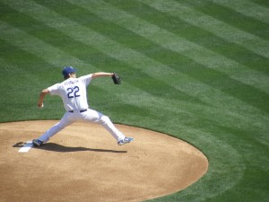 ClaYton Kershaw on the Mound Photo By: Stacie Wheeler