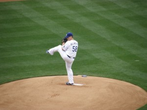 I've seen Chad Billingsley pitch brilliantly many times in person. Photo by: Stacie Wheeler
